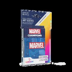 Game Genic Sleeves: Marvel Champions - Marvel Blue