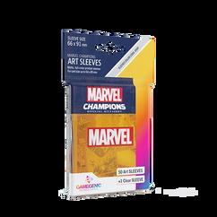 Game Genic Sleeves: Marvel Champions - Marvel Orange