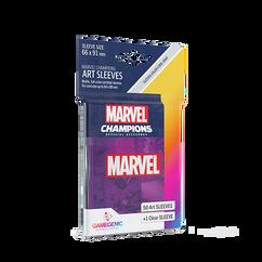 Game Genic Sleeves: Marvel Champions - Marvel Purple