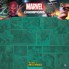Marvel Champions: Red Skull 1-4 Player Game Mat