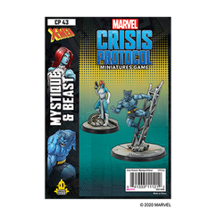 Marvel: Crisis Protocol - Mystique & Beast Character Pack