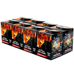 Dungeons & Dragons Miniatures: Icons of the Realms - Fangs & Talons Booster Brick (8)