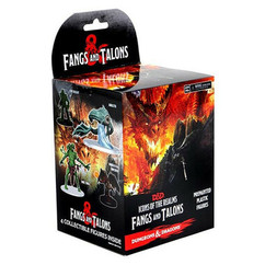 Dungeons & Dragons Miniatures: Icons of the Realms - Fangs & Talons Booster Pack