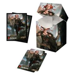 Ultra Pro: Commander Legends - Jeska, Thrice Reborn - Combo Sleeves (100ct) & Deck Box (PRO-100+)