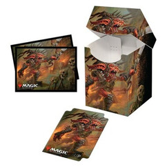 Ultra Pro: Commander Legends - Rograkh, Son of Rohgahh Combo Sleeves (100ct) & Deck Box (PRO-100+)