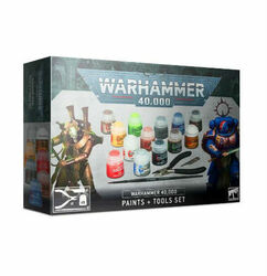 Warhammer 40K: Paints + Tools Set