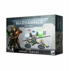 Warhammer 40K: Necrons: Warriors + Paints Set