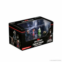 Dungeons & Dragons Miniatures: Icons of the Realms - Curse of Strahd - Legends of Barovia