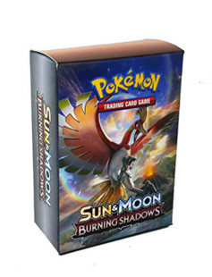 Pokemon: Sun & Moon Burning Shadows - Ho-oh & Necrozma Deck Box (3ct)