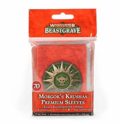 Warhammer Underworlds: Beastgrave - Morgok's Krushas Premium Sleeves