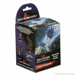 Dungeons & Dragons Miniatures: Icons of the Realms - Monster Menagerie II Booster Pack
