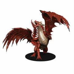 Pathfinder Battles: Dungeons Deep - Gargantuan Red Dragon