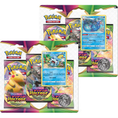 Pokemon: Sword & Shield - Vivid Voltage Three-Booster Blister Pack (Sobble & Vaporeon) (Set of 2) (PREORDER)