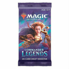 Magic: The Gathering - Commander Legends Draft Booster Pack