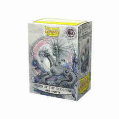 Dragon Shield: Word of the God Hand - Art, Matte Card Sleeves (100ct)