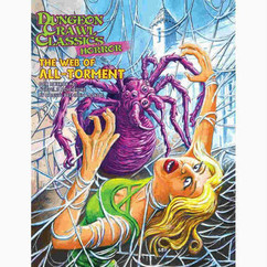 Dungeon Crawl Classics RPG: Horror #6 The Web of All-Torment