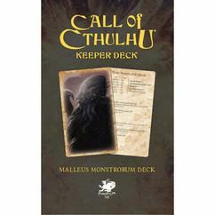 Call of Cthulhu 7th Edition: Malleus Monstrorum Keeper Deck