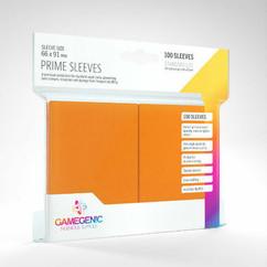 Game Genic Sleeves: Orange Standard Size Prime Sleeves (100ct)