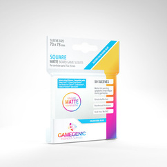 Game Genic Sleeves: Matte Square Size (50ct)