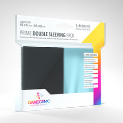 Game Genic Sleeves: Double Sleeving Pack (2x80ct)