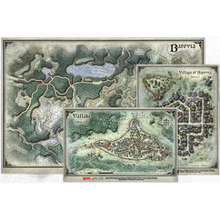 Dungeons & Dragons: Curse of Strahd - Encounters Map Set