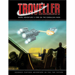 Traveller RPG: Fire on the Sindalian Main Adventure