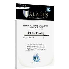 Paladin Sleeves: Standard Card Game - Percival (55ct)
