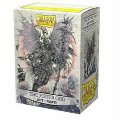 Dragon Shield: Jester God - Art, Matte Card Sleeves (100ct)