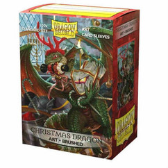 Dragon Shield: Christmas Dragon 2020 - Art, Brushed Card Sleeves (100ct)