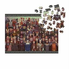 Dragon Age: Cast of Thousands - Puzzle (1000pcs)