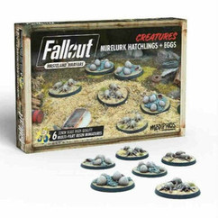 Fallout Wasteland Warfare: Creatures - Mirelurk Hatchlings & Eggs Expansion