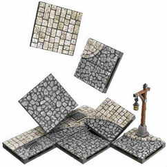 WarLock Tiles - Town & Village III - Town Square Expansion
