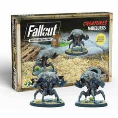 Fallout Wasteland Warfare: Creatures - Mirelurks Expansion