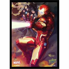 Upper Deck Sleeves: Marvel - Iron Man (65ct)
