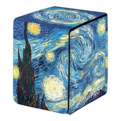 Ultra Pro Deck Box: Fine Art - Starry Night (Alcove Flip) (PREORDER)