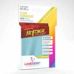 KeyForge: Exoshields Card Sleeves - Clear (40ct)