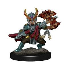 Dungeons & Dragons: Icons of the Realms Premium Miniatures - Female Halfling Fighter (Wave 5)