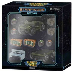 Starfinder Battles Miniatures: Planets of Peril - Docking Bay Premium Set