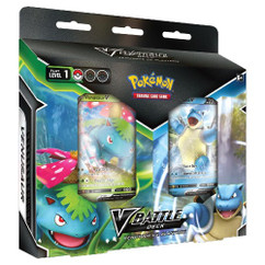 Pokemon: Venusaur vs. Blastoise - V Battle Deck Bundle