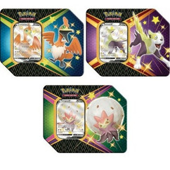 Pokemon: Shining Fates - Eldegoss V, Boltund V , & Cramorant V Tin (3)
