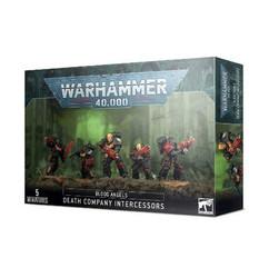 Warhammer 40K: Blood Angels - Death Company Intercessors