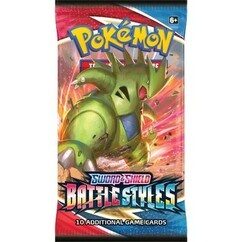 Pokemon: Sword & Shield - Battle Styles Booster Pack