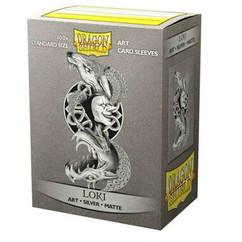 Dragon Shield: Loki - Art, Matte Card Sleeves (100ct)