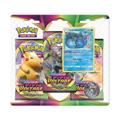 Pokemon: Sword & Shield - Vivid Voltage Three-Booster Blister Pack (Vaporeon)