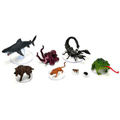 Dungeons & Dragons Miniatures: Icons of the Realms - Wild Shape & Polymorph Set One