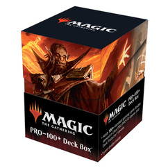 Ultra Pro Deck Box:  Strixhaven - Plargg, Dean of Chaos & Augusta, Dean of Order V4 (PRO-100+)