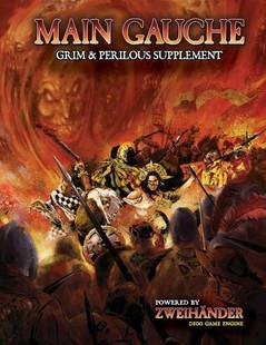 Zweihander Grim & Perilous RPG: Main Gauche Supplement (PREORDER)