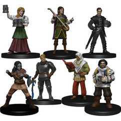 Dungeons & Dragons Miniatures: Icons of the Realms - Yawning Portal Inn - Friendly Faces (PREORDER)