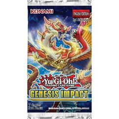 Yu-Gi-Oh!: Genesis Impact Booster Pack 1st Edition