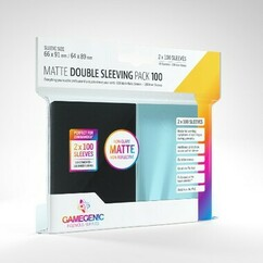 Game Genic Sleeves: Matte Double Sleeving Pack (100ct)